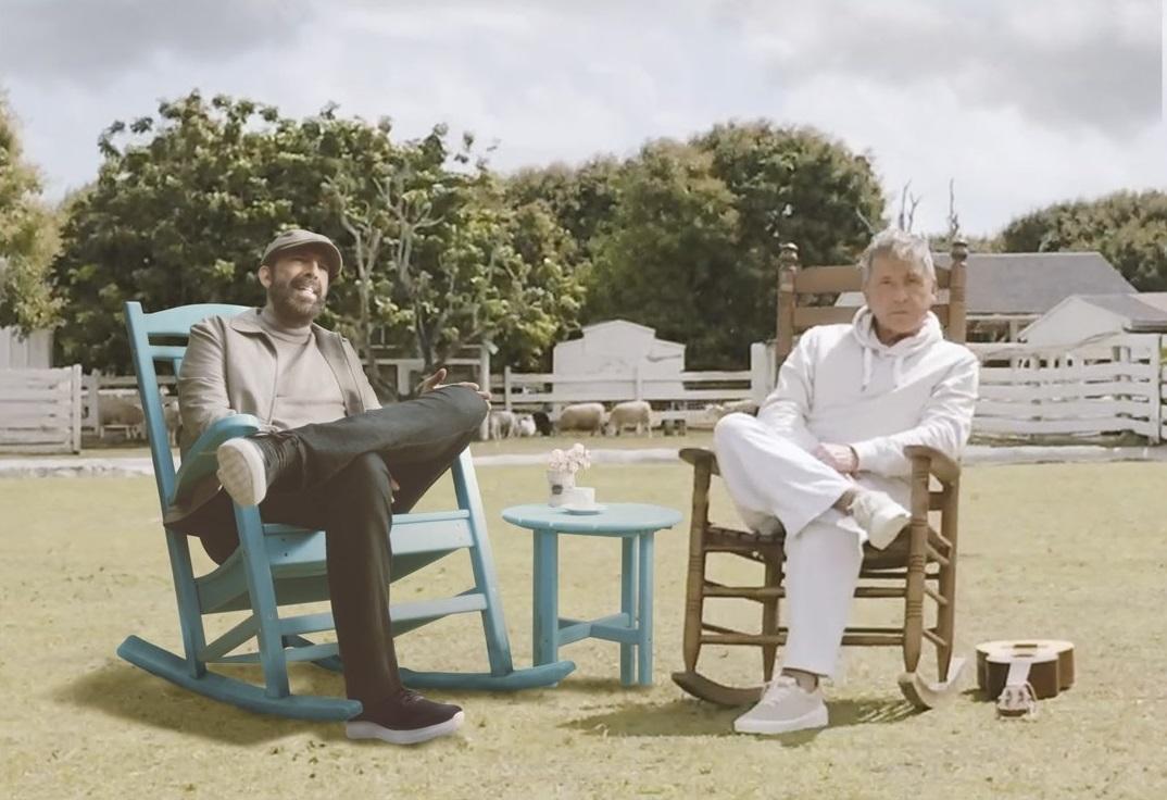"""""""Dios así lo quiso"""", la canción donde se unen Ricardo Montaner y Juan Luis Guerra"""