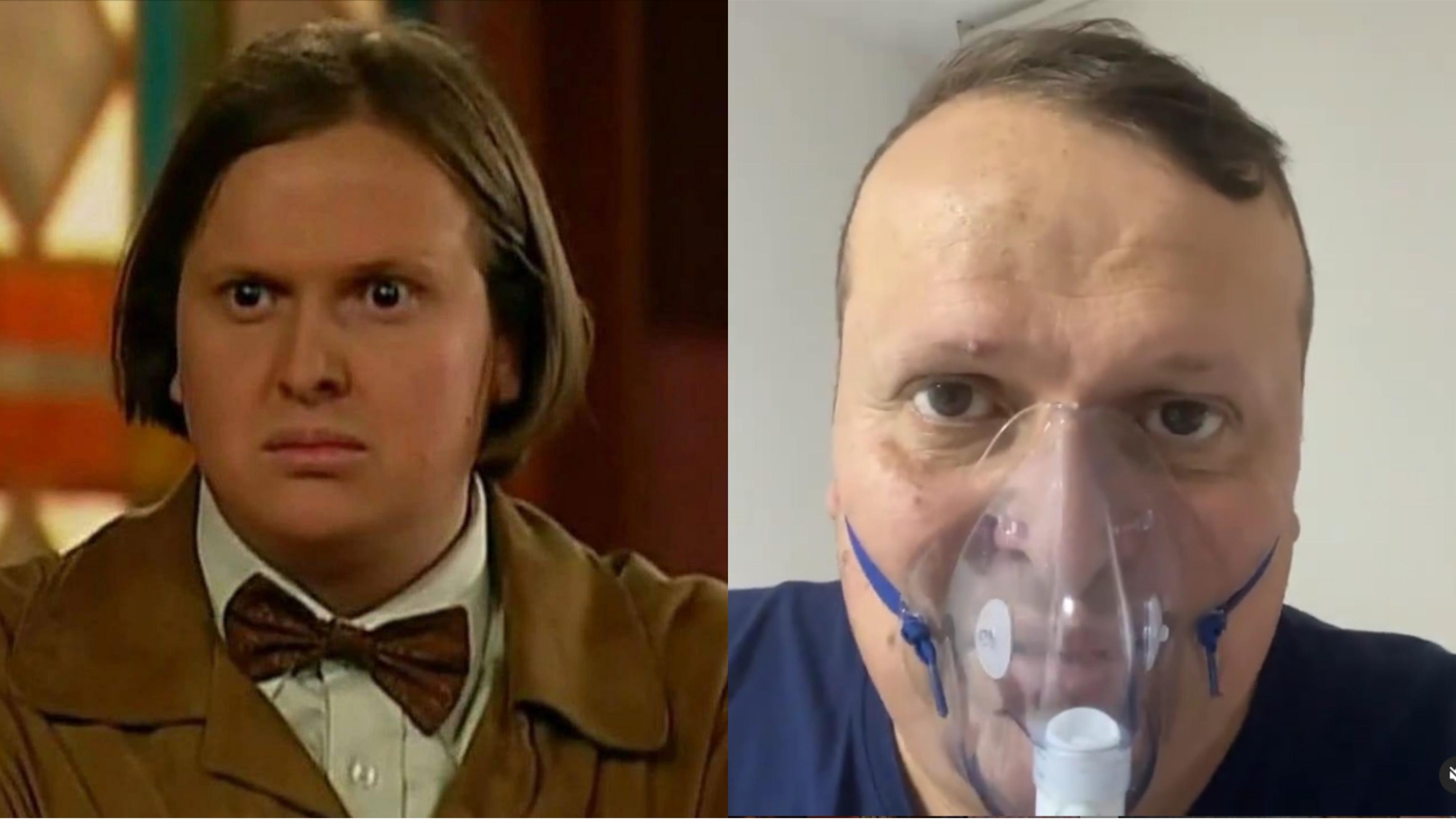 Actor de 'Pasión de gavilanes' lucha contra las secuelas del coronavirus