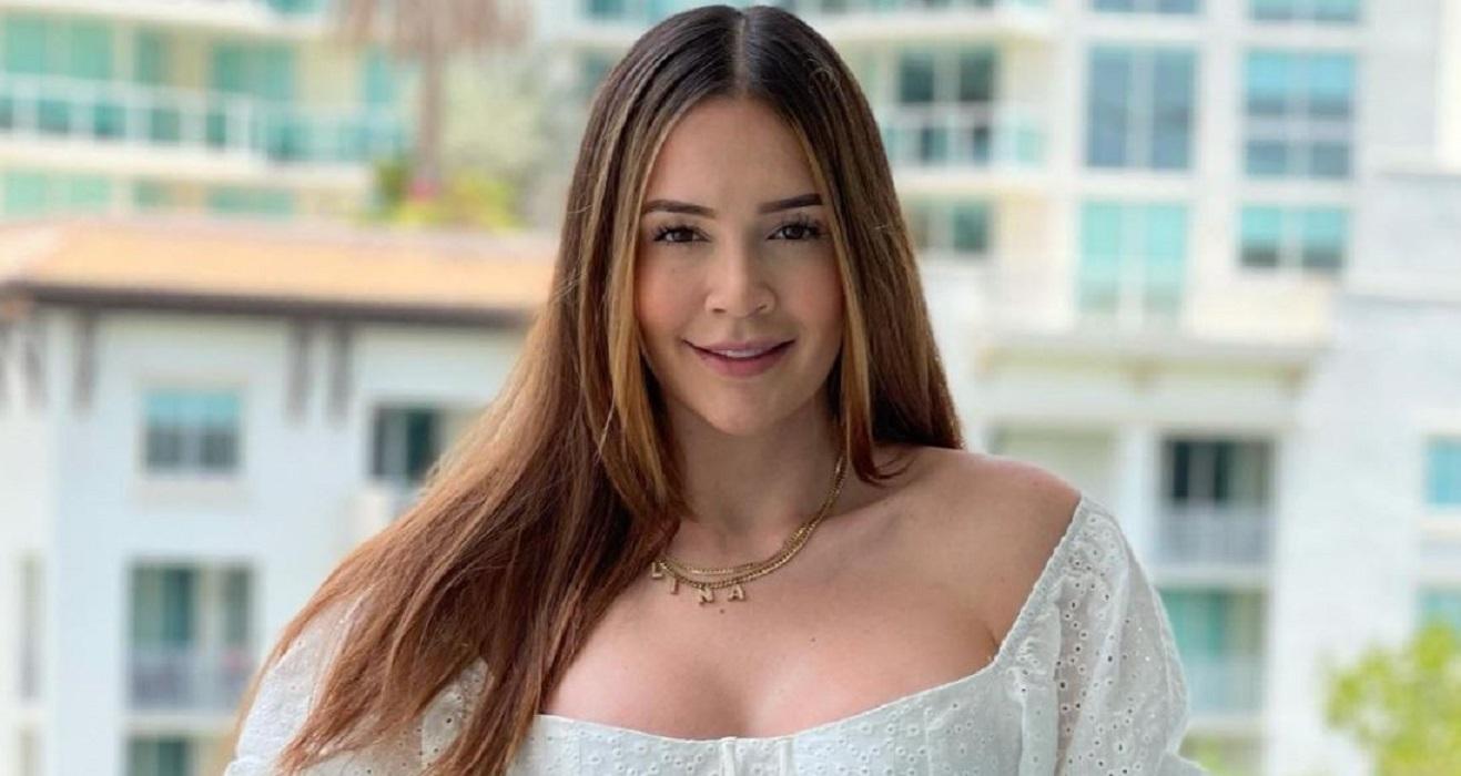 Critican a Lina Tejeiro por chicanear su perfume de 2 millones de pesos