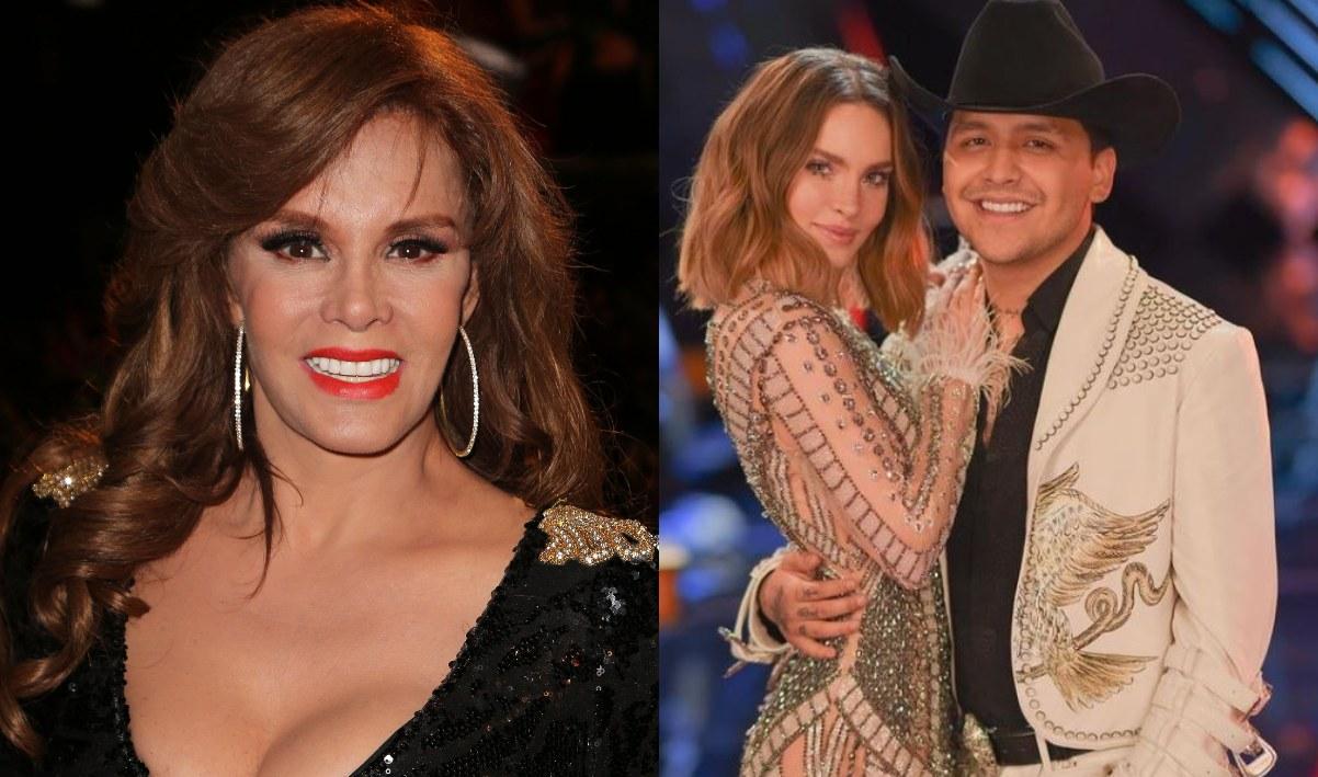 Lucía Méndez reveló que le encantaría asistir a la boda de Belinda y Christian Nodal