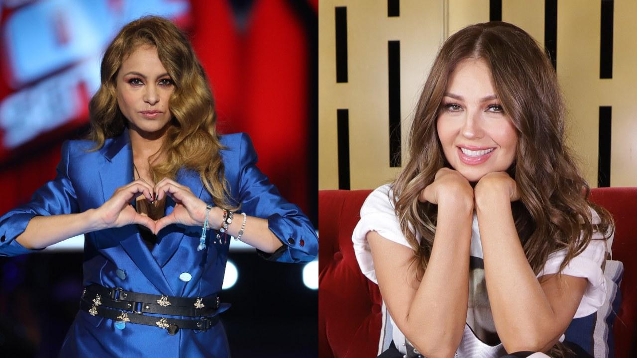 Reviven pelea entre Paulina Rubio y Thalía en pleno concierto