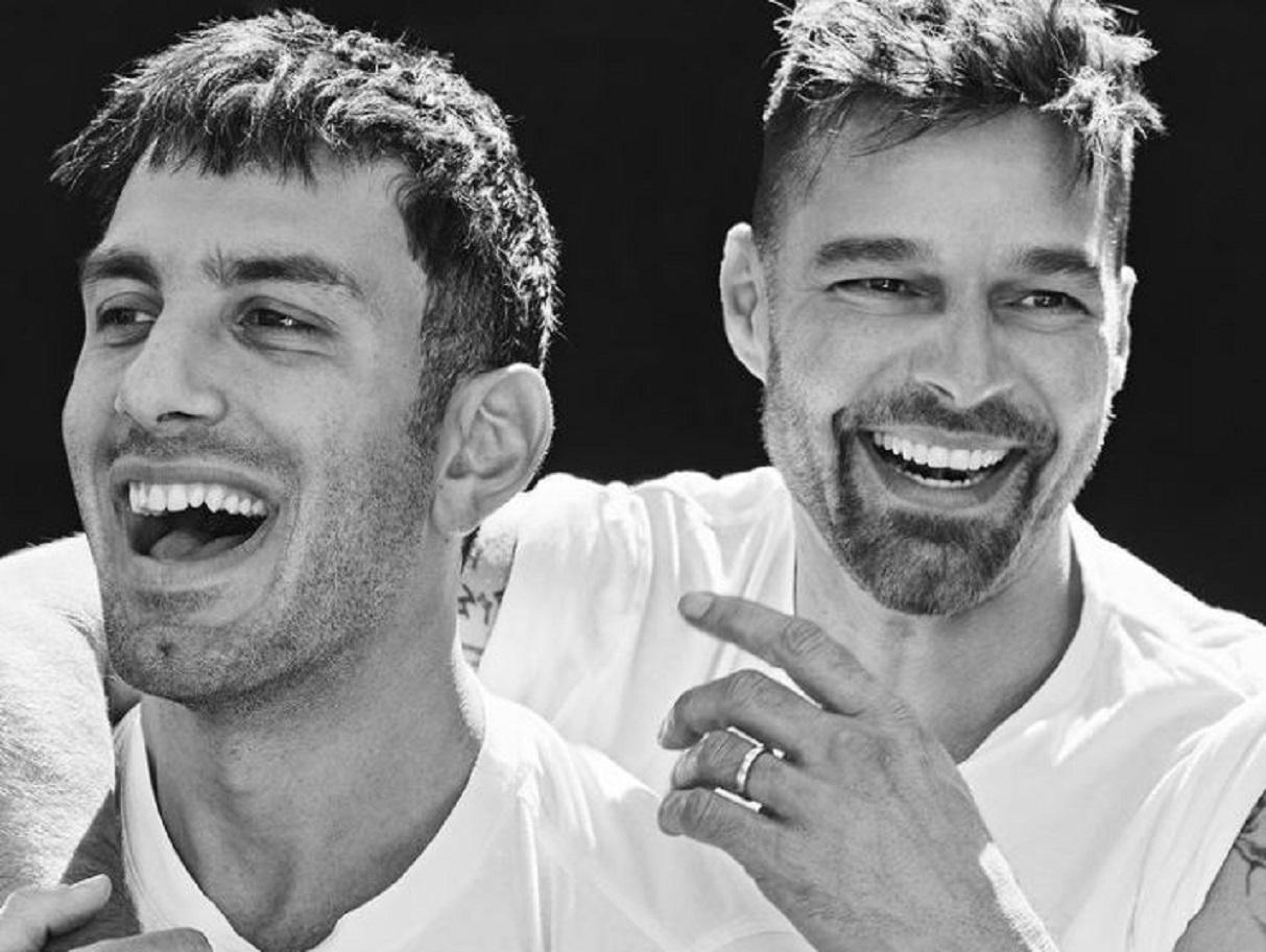 Con mucho amor, así celebraron el día del padre Ricky Martin y Jwan Yosef