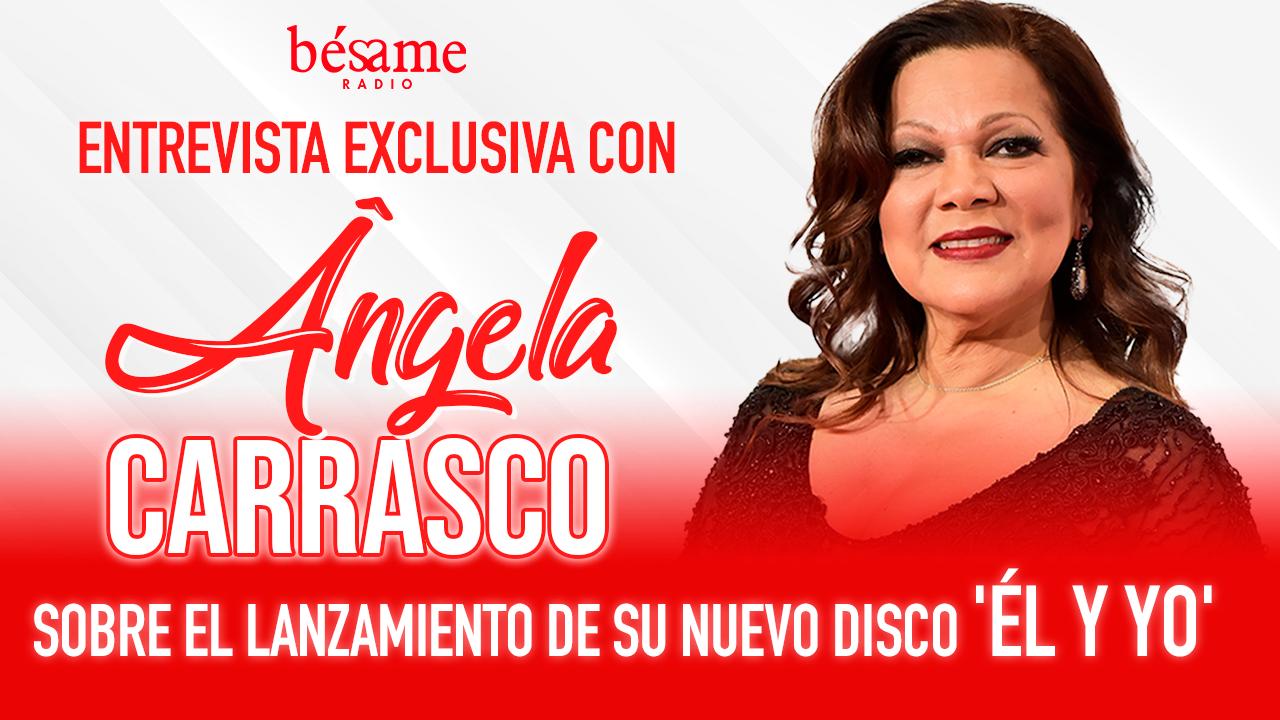Ángela Carrasco nuevo disco 'Él y yo'