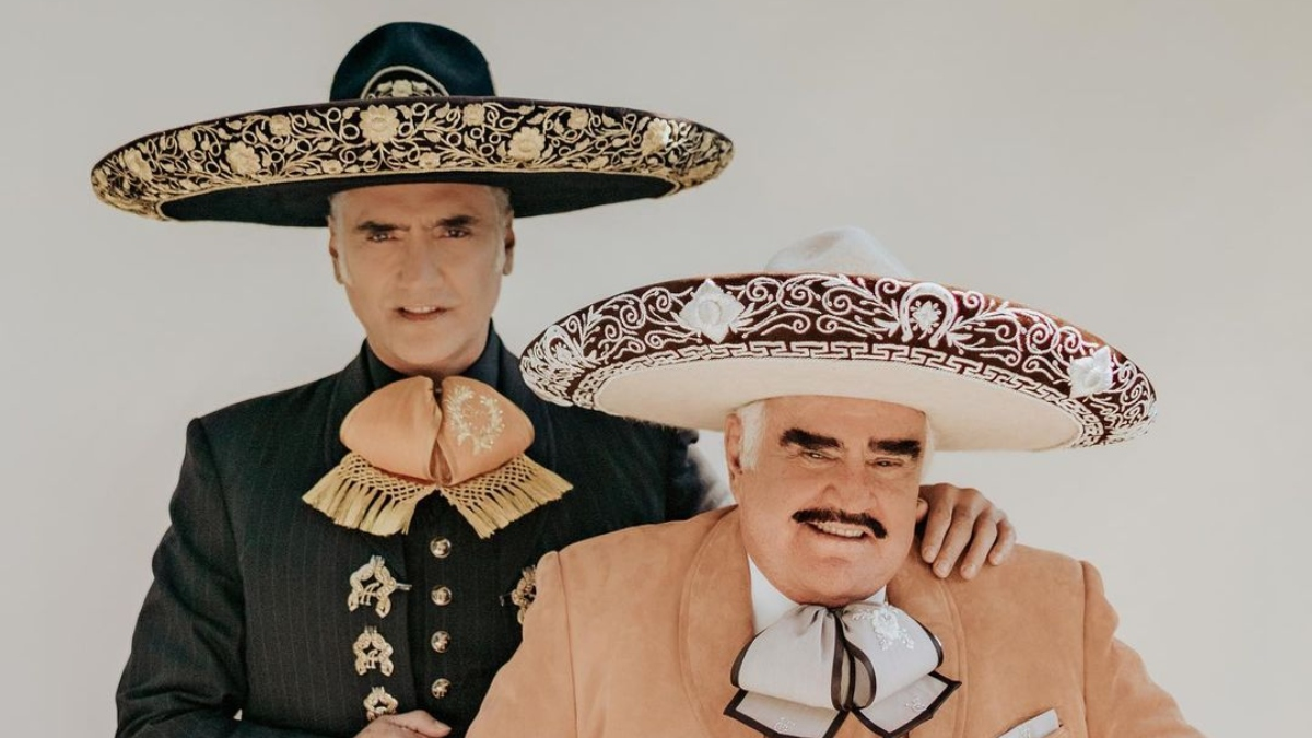 Alejandro Fernández canción con Vicente Fernández