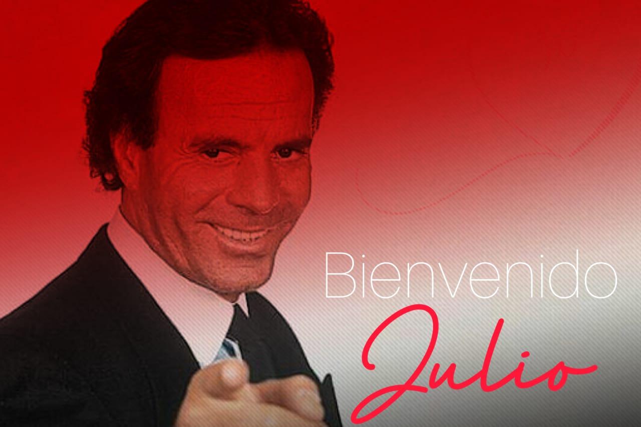 ¡Bienvenido Julio… Iglesias! Comienza julio y en redes llueven los memes del cantante español