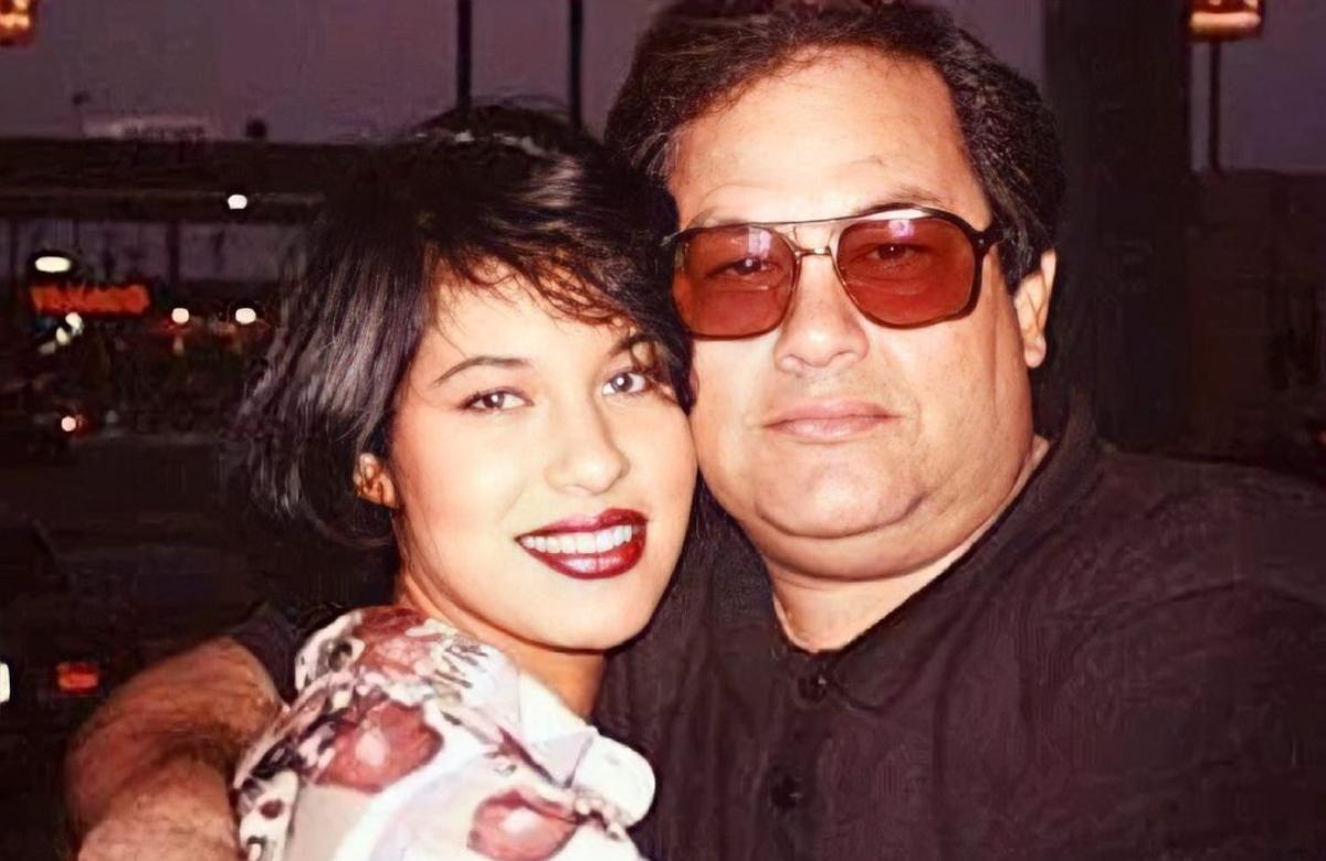 Selena y Abraham Quintanilla
