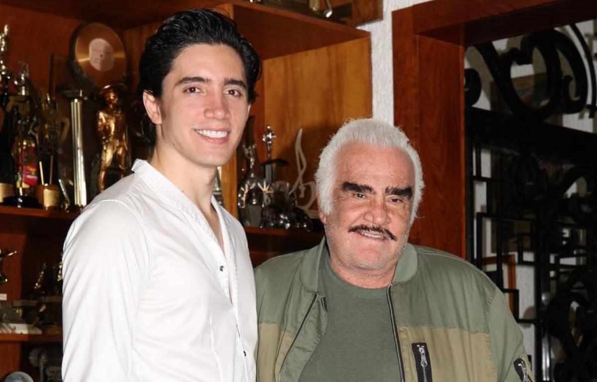 Alex Fernández y Vicente Fernández