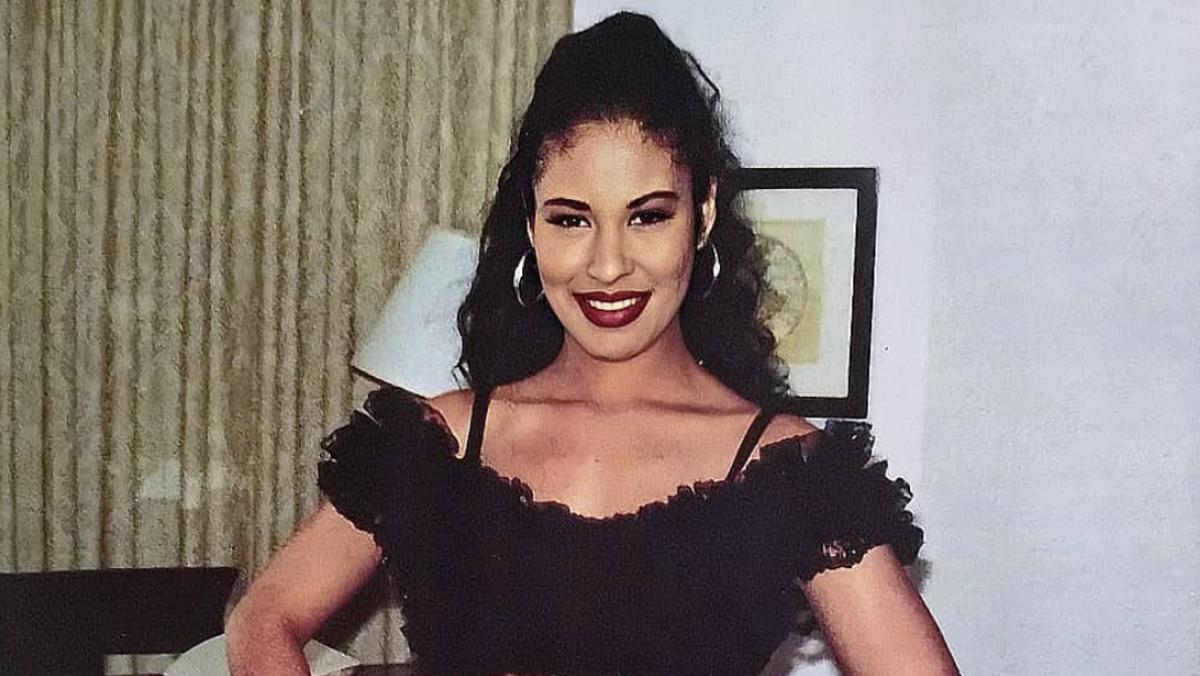 Foto inédita de Selena Quintanilla