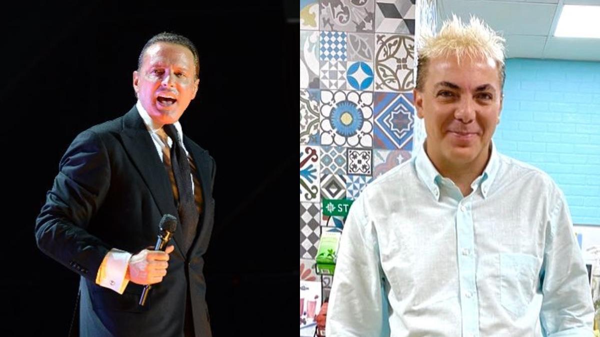 Luis Miguel y Cristian castro
