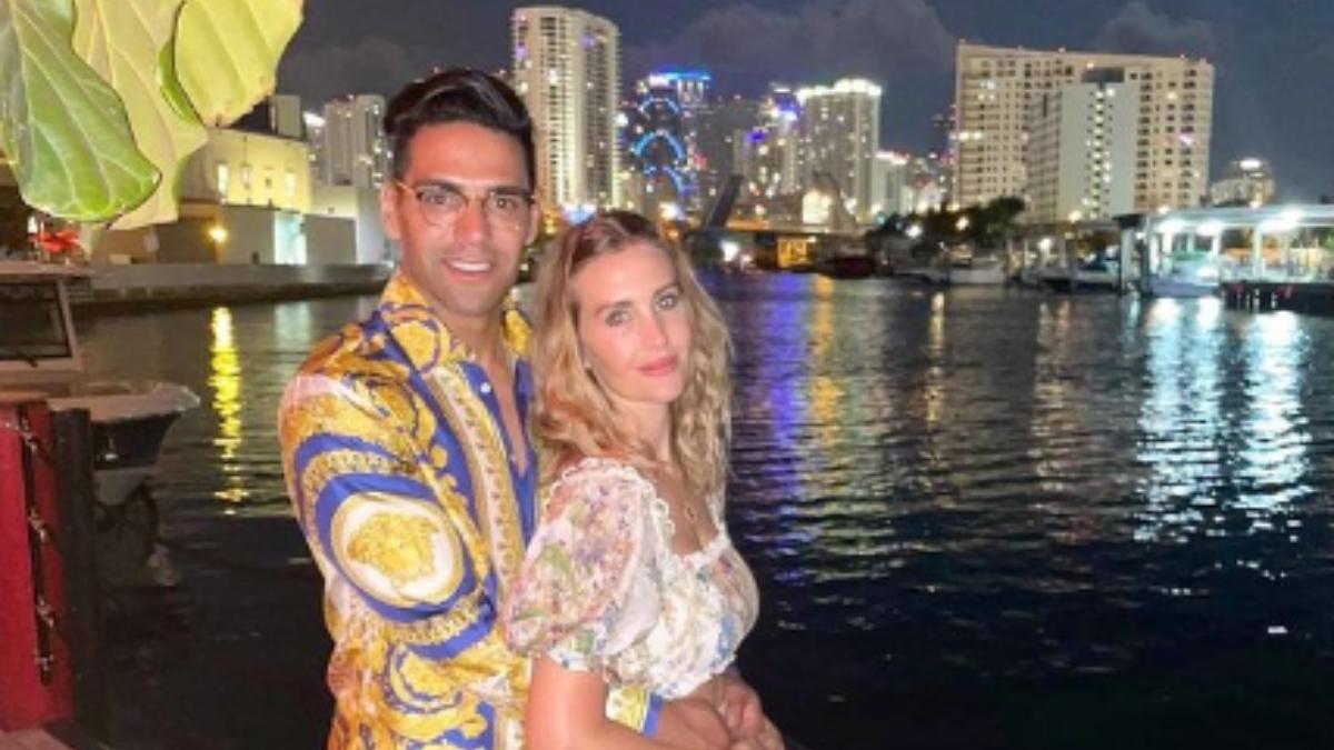 Lorelei Tarón y Falcao enamoran en redes sociales con tierna fotografía